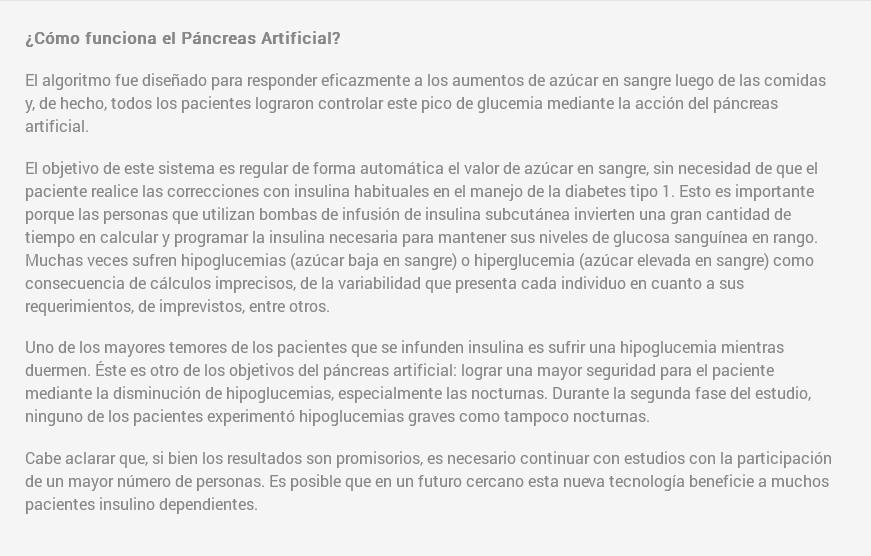 pancreas artificial